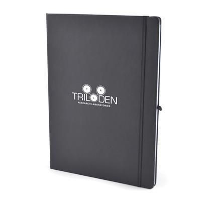 Picture of A4 MOLE NOTE BOOK in Black