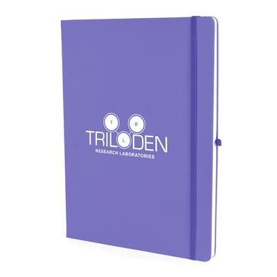 Picture of A4 MOLE NOTEBOOK in Purple