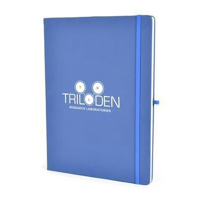 Picture of A4 MOLE NOTEBOOK in Reflex Blue