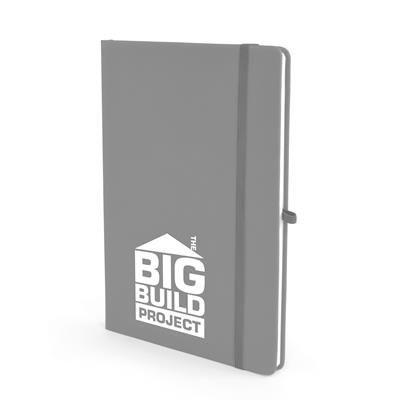 Picture of A5 MOLE NOTEBOOK in Light Grey