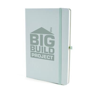 Picture of A5 MOLE NOTEBOOK in Pastel Green PU