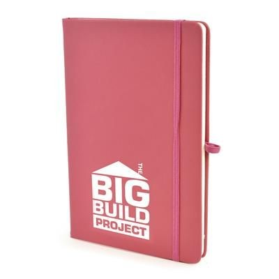 Picture of A5 MOLE NOTEBOOK in Pink