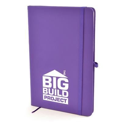 Picture of A5 MOLE NOTEBOOK in Purple