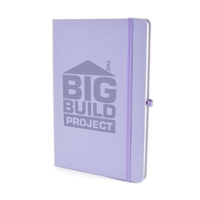Picture of A5 MOLE NOTEBOOK in Pastel Purple PU