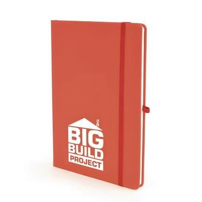 Picture of A5 MOLE NOTE BOOK in Red
