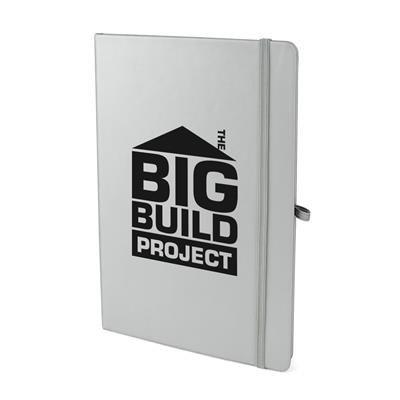Picture of A5 MOLE NOTE BOOK in Silver