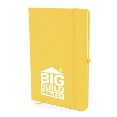 Picture of A5 MOLE NOTEBOOK in Yellow