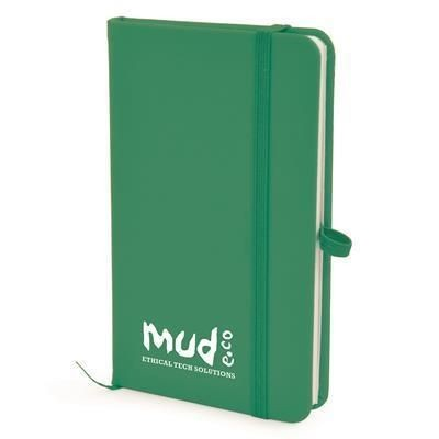 Picture of A6 MOLE NOTEBOOK in Dark Green