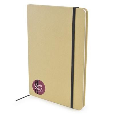 Picture of A5 NATURAL RECYCLED NOTE BOOK
