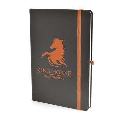 Picture of A5 BOWLAND NOTEBOOK in Amber