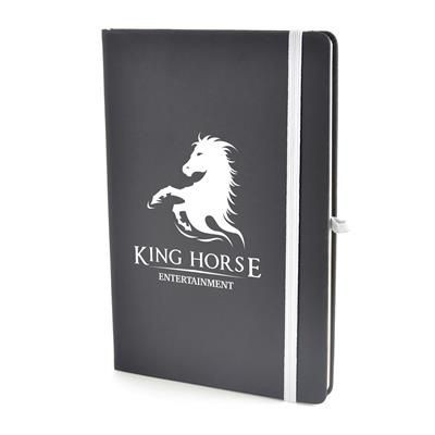 Picture of A5 BOWLAND NOTEBOOK in White