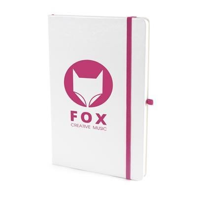 Picture of A5 WHITE PU NOTE BOOK in Pink