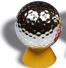 Picture of SILVER GOLF BALL
