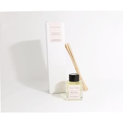 Picture of 50ML NATURAL ECO FRIENDLY REED FRAGRANCE DIFFUSER in a Square Glass Bottle