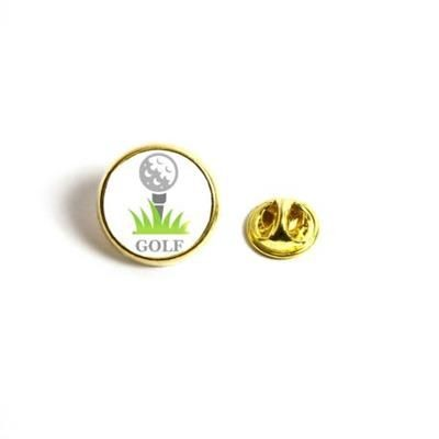 Picture of ROUND METAL PIN BADGE with Butterfly Pin Back Fitting