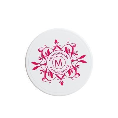Picture of SOLID PLASTIC ROUND COASTER with Shallow Profile & Full Colour Digital Print to Front Face