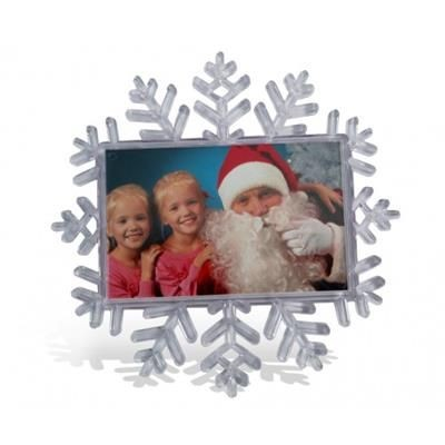 Picture of SNOW FLAKE SHAPE FRIDGE MAGNET