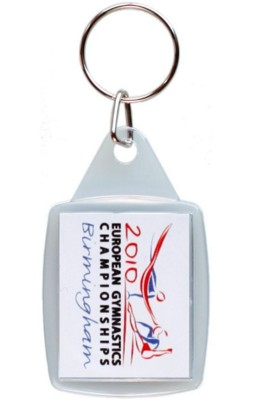 Picture of MID-SIZE RECTANGULAR KEYRING