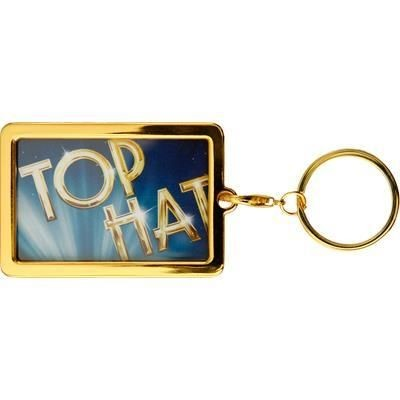 Picture of Silver COLOUR METAL KEYRING