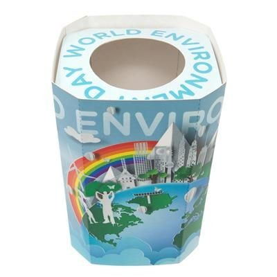 Picture of RECYCLED CARD POP UP PEN POT