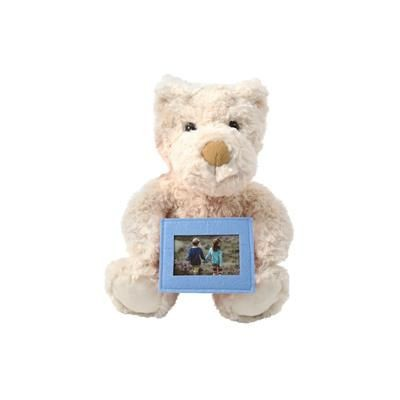 Picture of CUTE TEDDY BEAR with Super Soft Scruffy Fur & Removable Felt photo Frame