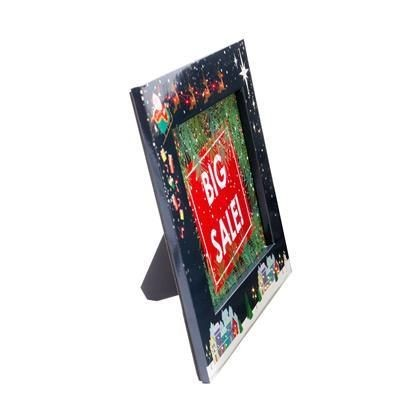 Picture of CHRISTMAS ILLUSTRATED PHOTO FRAME with Flashing Lights