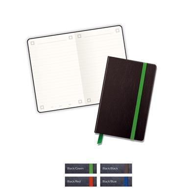 Picture of MYNO CLASSIC A6 LEATHERTEX NOTE BOOK