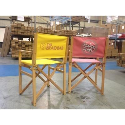 Picture of FULL COLOUR PRINTED DIRECTORS CHAIR