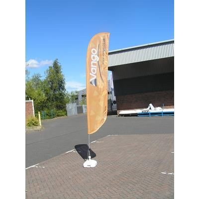 Picture of FEATHER BANNER FLAG in Medium