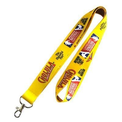Picture of DYE SUBLIMATION PRINTED POLYESTER LANYARD