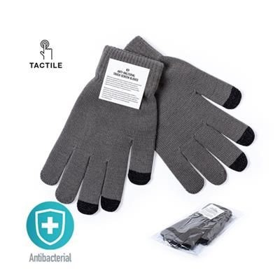 Picture of ANTIBACTERIAL TOUCH SCREEN GLOVES