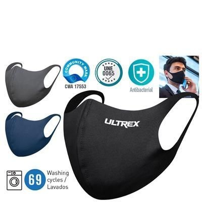 Picture of SINGLE LAYER ANTIBACTERIAL AND WATER REPELLENT POLYESTER MASK