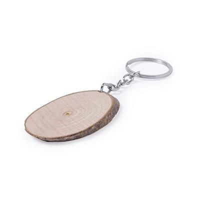 Picture of FINA WOOD KEYRING