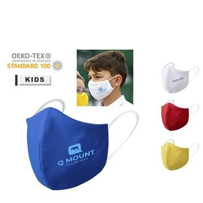 Picture of REUSABLE CHILDS FABRIC FACE MASK