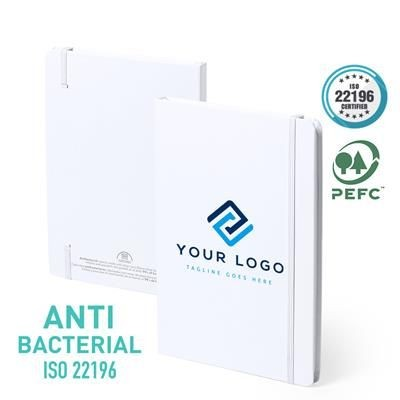 Picture of ANTIBACTERIAL NOTE BOOK - LAMINATED