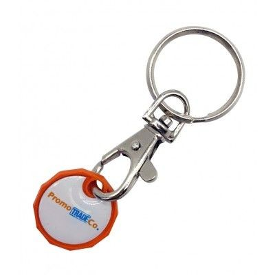 Picture of PLASTIC TROLLEY COIN KEYRING