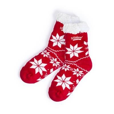 Picture of CHRISTMAS SLIPPER SOCKS