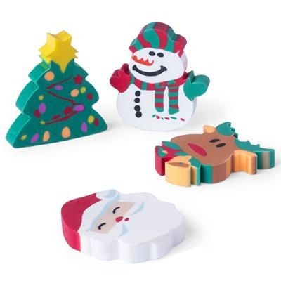 Picture of CHRISTMAS RUBBER SET