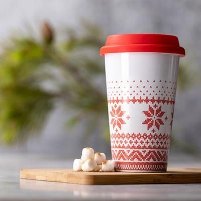 Picture of CHRISTMAS TRAVEL CUP