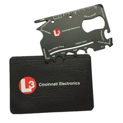 Picture of CREDIT CARD SIZE MULTI TOOL in Black