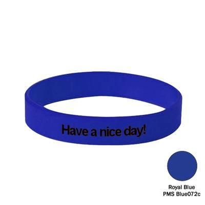 Picture of SILICON WRIST BAND in Royal Blue