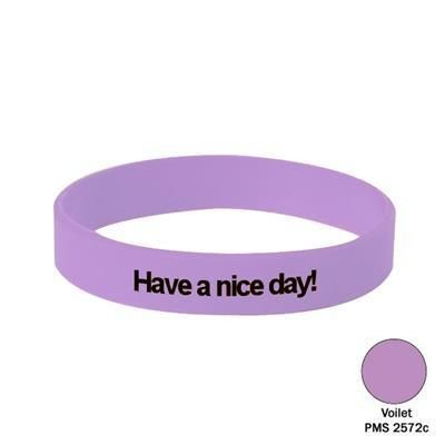 Picture of SILICON WRIST BAND in Violet