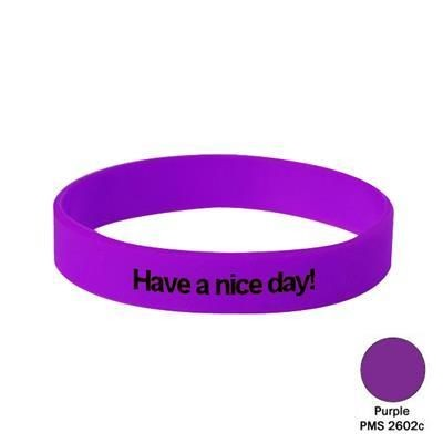 Picture of SILICON WRIST BAND in Purple