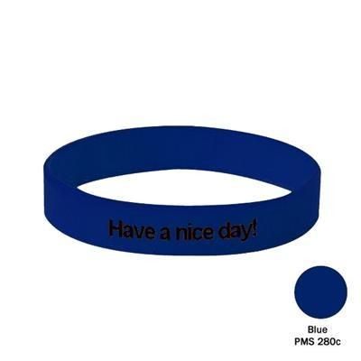 Picture of SILICON WRIST BAND in Blue