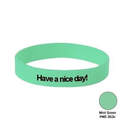 Picture of SILICON WRIST BAND in Mint Green