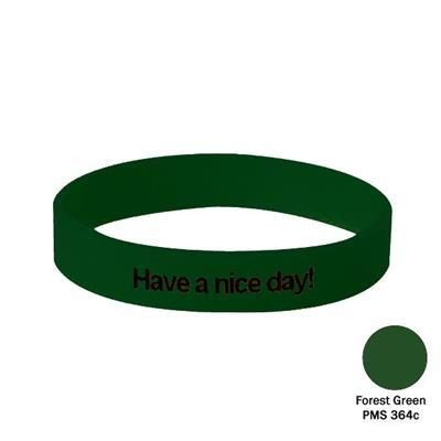 Picture of SILICON WRIST BAND in Forest Green