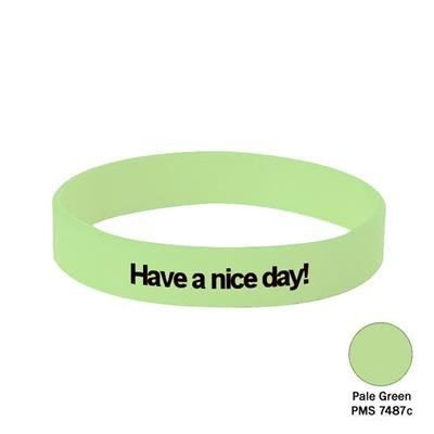 Picture of SILICON WRIST BAND in Pale Green