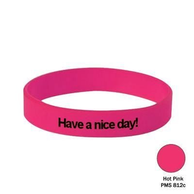 Picture of SILICON WRIST BAND in Hot Pink