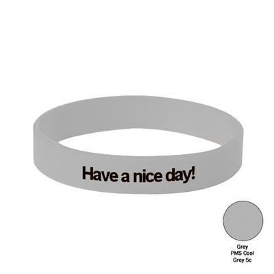 Picture of SILICON WRIST BAND in Grey