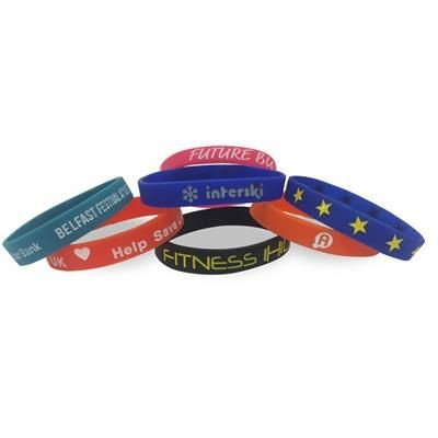 Picture of SILICON DEBOSSED WRIST BAND